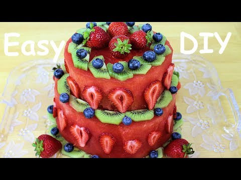 BIRTHDAY CAKE - Healthy and Easy to Make