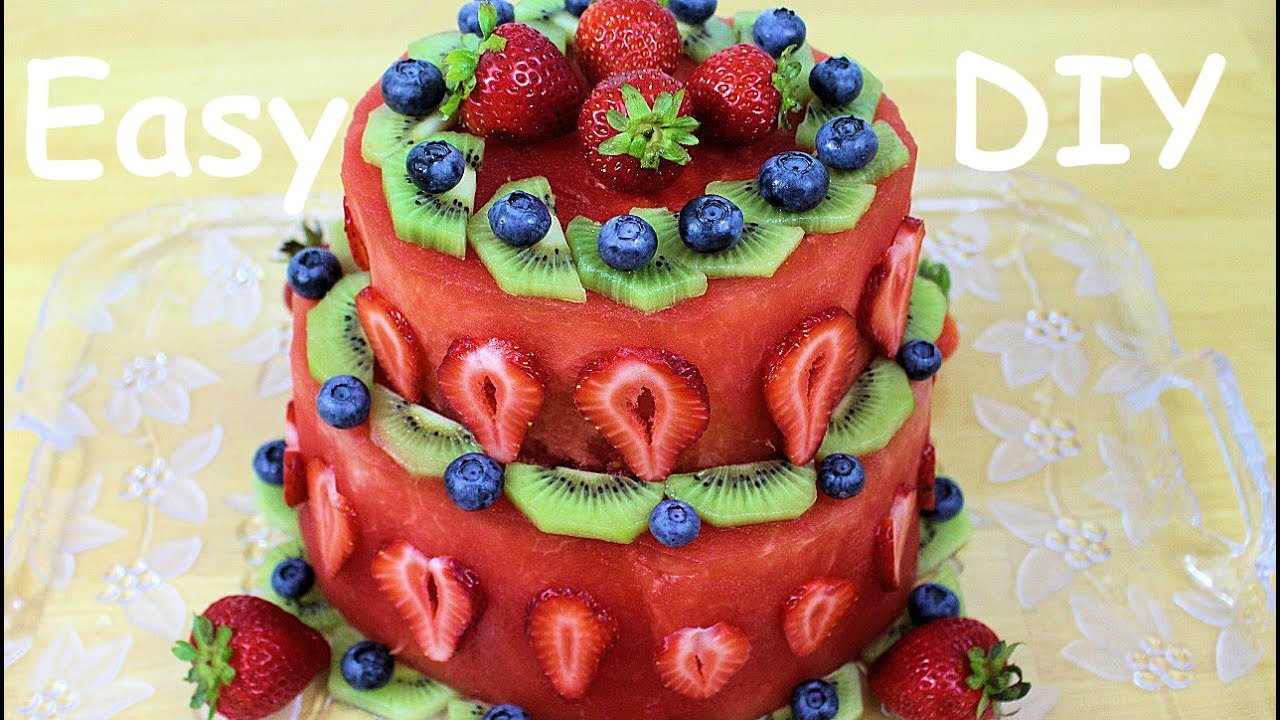 Birthday Cake Healthy And Easy To Make Youtube