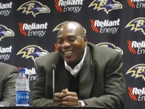 Ozzie Newsome talks about Joe Hortiz and Ravens scouts