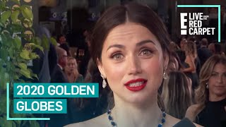 "Ana de Armas Admits She's ""A Little Bit of a Mess"" at Golden Globes 
