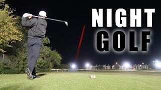 FIRST TIME PLAYING NIGHT GOLF | PART 1