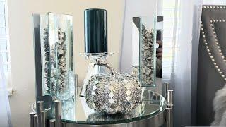 💎🍂🍁Glam Mirrored Pumpkin DIY #glamfall