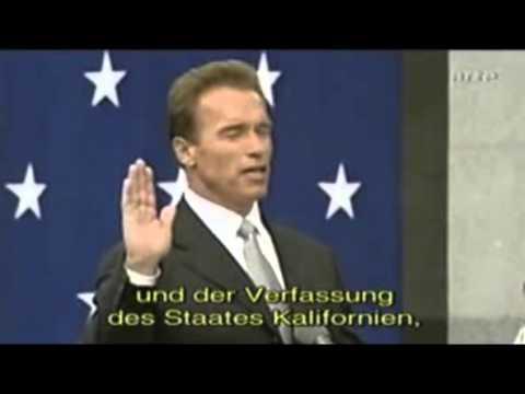 Schwarzenegger Inauguration 2003 - Kannst di duschn