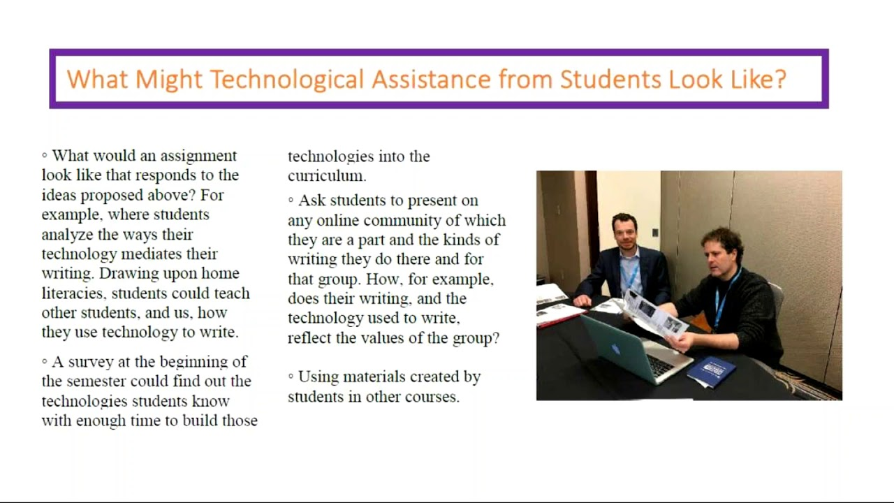 Multilingual Writers & Technology: 4 Ideas from the Second Language Writing  Standing Group at CCCC
