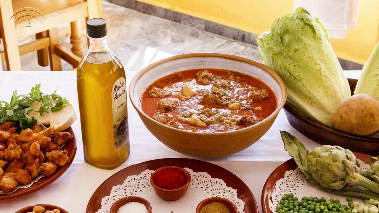 Resultado de imagen de gastronomia andaluza