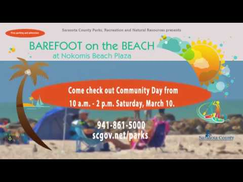 PSA - Barefoot on the Beach - Community Day