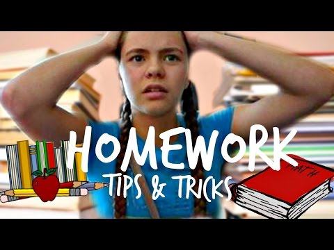 How To Finish Your Homework Faster | Tips & Tricks