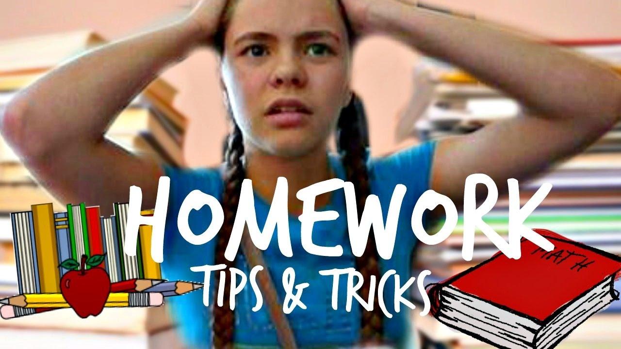 How do i finish my homework really fast