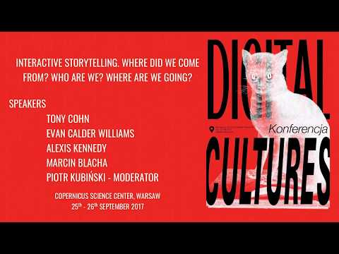 Digital Cultures Conference 2017: Interactive Stories
