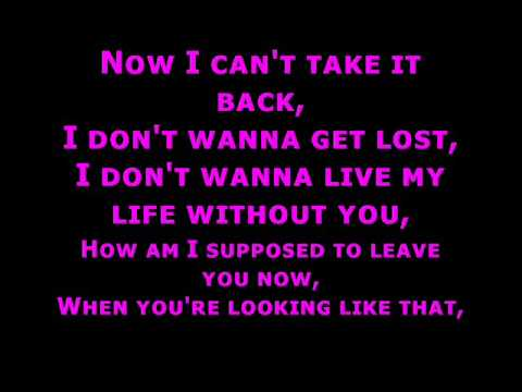 Westlife - when you're looking like that - lyrics