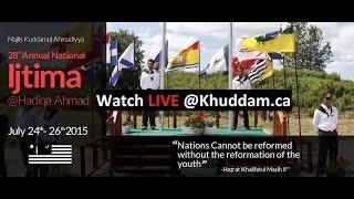 28th Annual National Ijtima' - Impromptu Speech