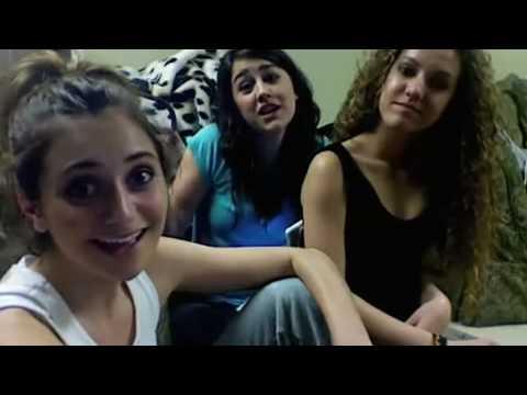 Alyson, Kelsey, and Lindsay's dance battle challenge!