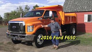 2017 Ford F-550 Lariat Flatbed Walkaround - clipzui.com