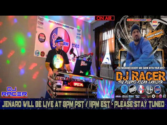 DJ RACER INTERVIEW WITH JENARO - 07/03/2020