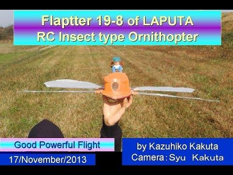 フラップター:Flaptter19-8  Very good Powerful Flight