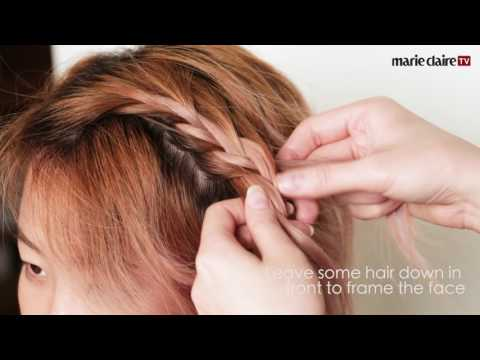 Easy Hairstyles For Short Hair #2 - The Braided Headband
