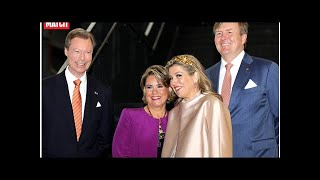 Maria Teresa et Henri de Luxembourg aux petits soins pour Maxima et Willem-Alexander des Pays-Bas