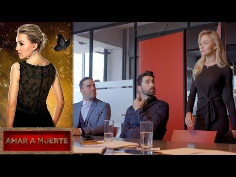 La guerra entre Lucia y Eva comienza | Amar a muerte - Televisa