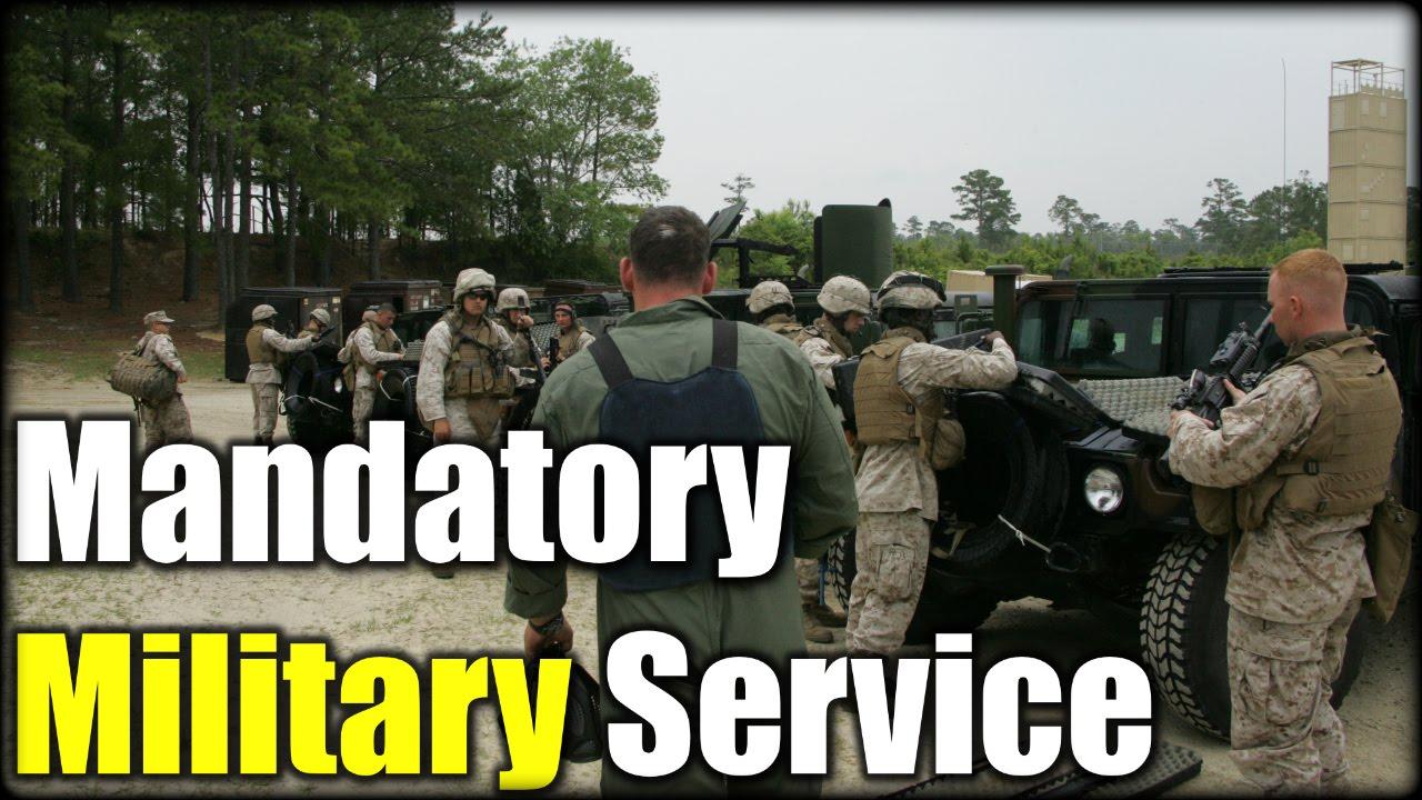compulsory armed service provider essay