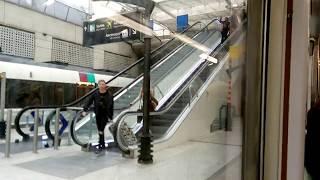 RER B - Charles de Gaulle Airport Terminal 2 to Paris (Train in Paris)