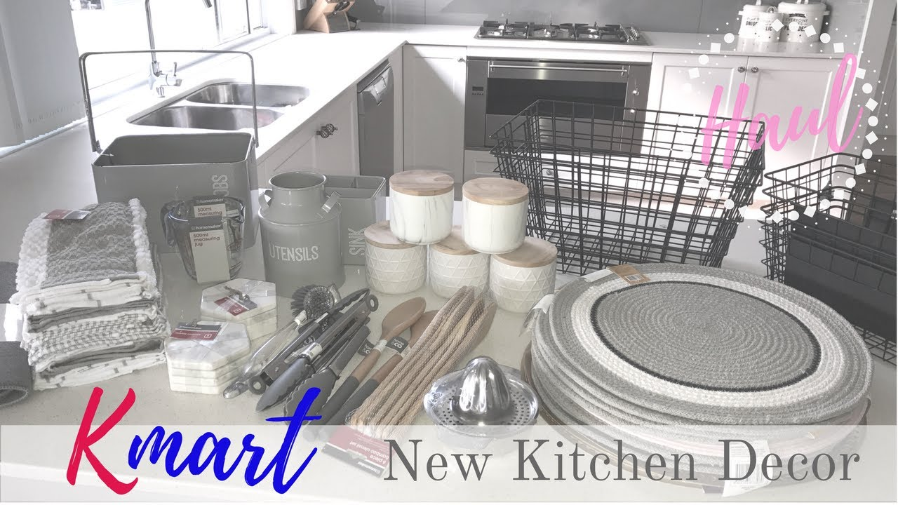 Haul Kmart Kitchen Decor You