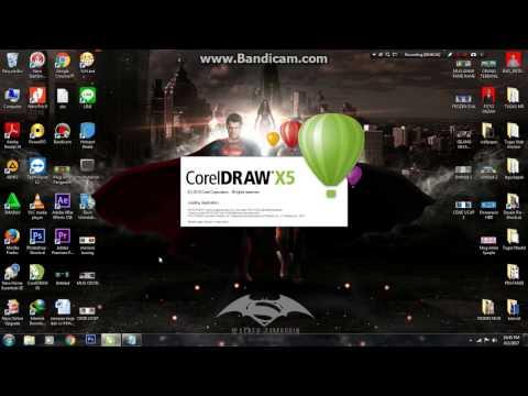 Desain Mug mudah dan simple dengan CorelDraw X5
