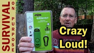 Best Personal Alarm For Outdoor Use - eAlarm+