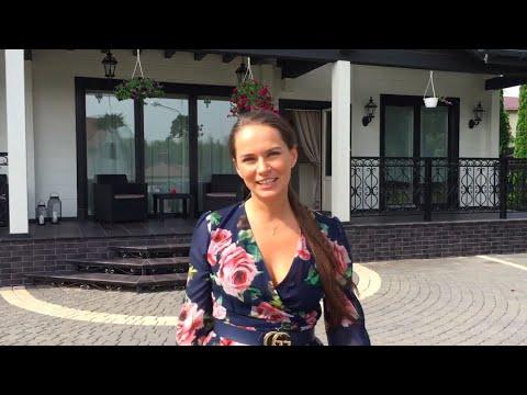 """Обзор красивого дома из клееного бруса 207 м² — проект """"Белый дом"""""""