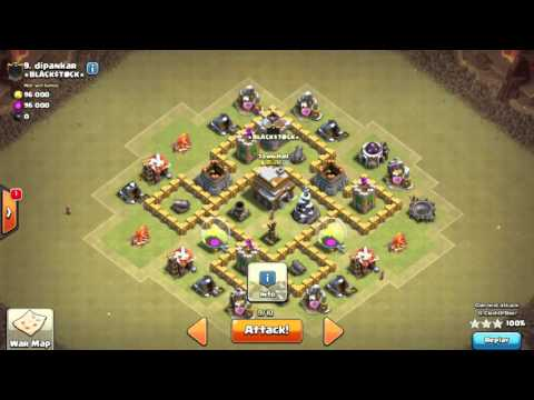 TH5 Vs TH5 | Loon Attack Strategy | { War Chronicles }