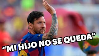 Jorge Messi se plantó ante Bartomeu por la salida de Lionel del Barcelona 🚨