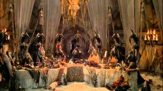 Dark Crystal- Skeksis Dinner scene