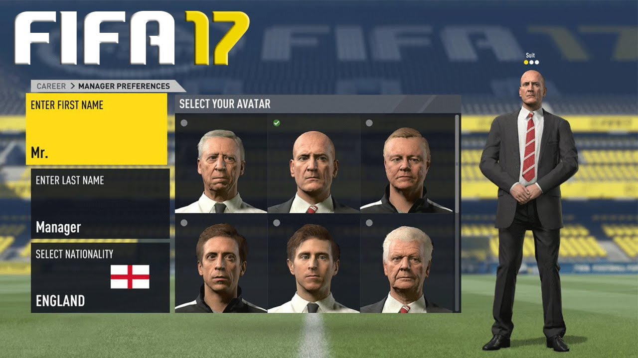 omg fifa 17 career mode amazing new features. Black Bedroom Furniture Sets. Home Design Ideas