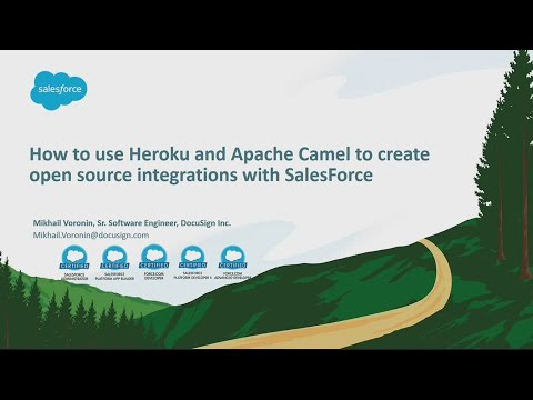 Using Heroku and Apache Camel to Create Open Source Integrations With Salesforce