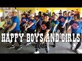 Happy Girls And Happy Boys