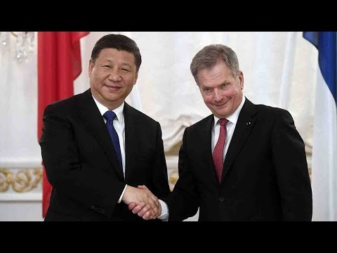 China and Finland sign deals on finance, energy and food