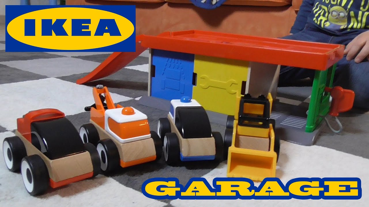 Garage ikea lillabo garage con carro attrezzi giochi di for Box bimbi ikea
