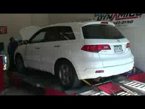 PFAB Acura RDX Proto Downpipe Midpipe Dyno YouTube - Acura rdx downpipe