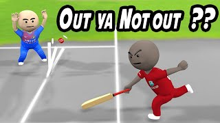 3D ANIM COMEDY - CRICKET INDIA VS WESTINDIES || RAJNIKANTH VS CRICKET || LAST OVER