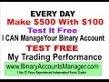 Binary Option Strategy Here's a Quick Way to Make Loads of Money Each Day !