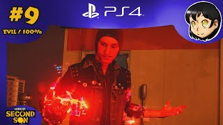 "LP+ | inFAMOUS Second Son (EVIL / 100%) Part 9 ""Renegade Killed The Video Star"""