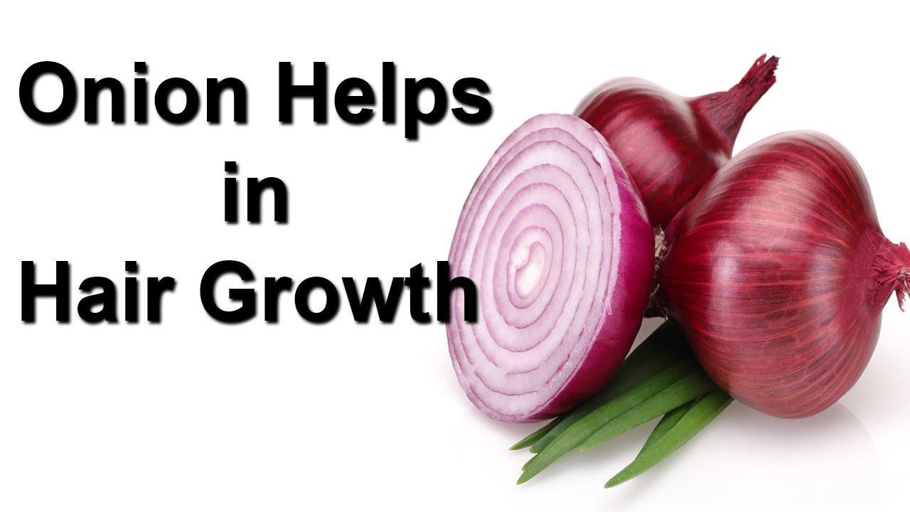 How Onion Helps in Hair Growth - YouTube