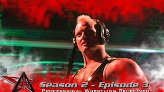 aaw pro wrestling season 2 episode 3 seth rollins vs cesaro