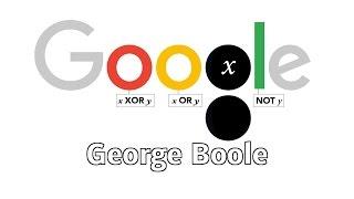 George Boole ? 2. November 2015 (Google Doodle)