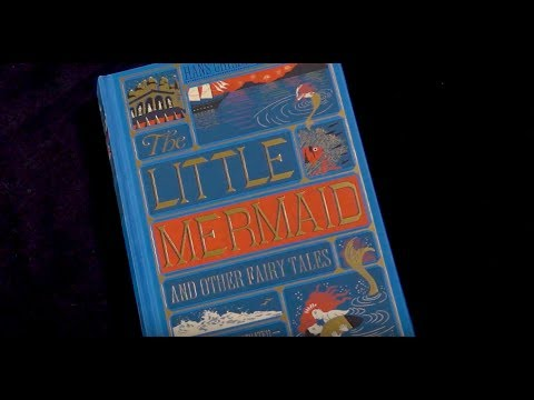 The Little Mermaid and Other Fairy Tales by Hans Christian Andersen, Illustrated by Minalima