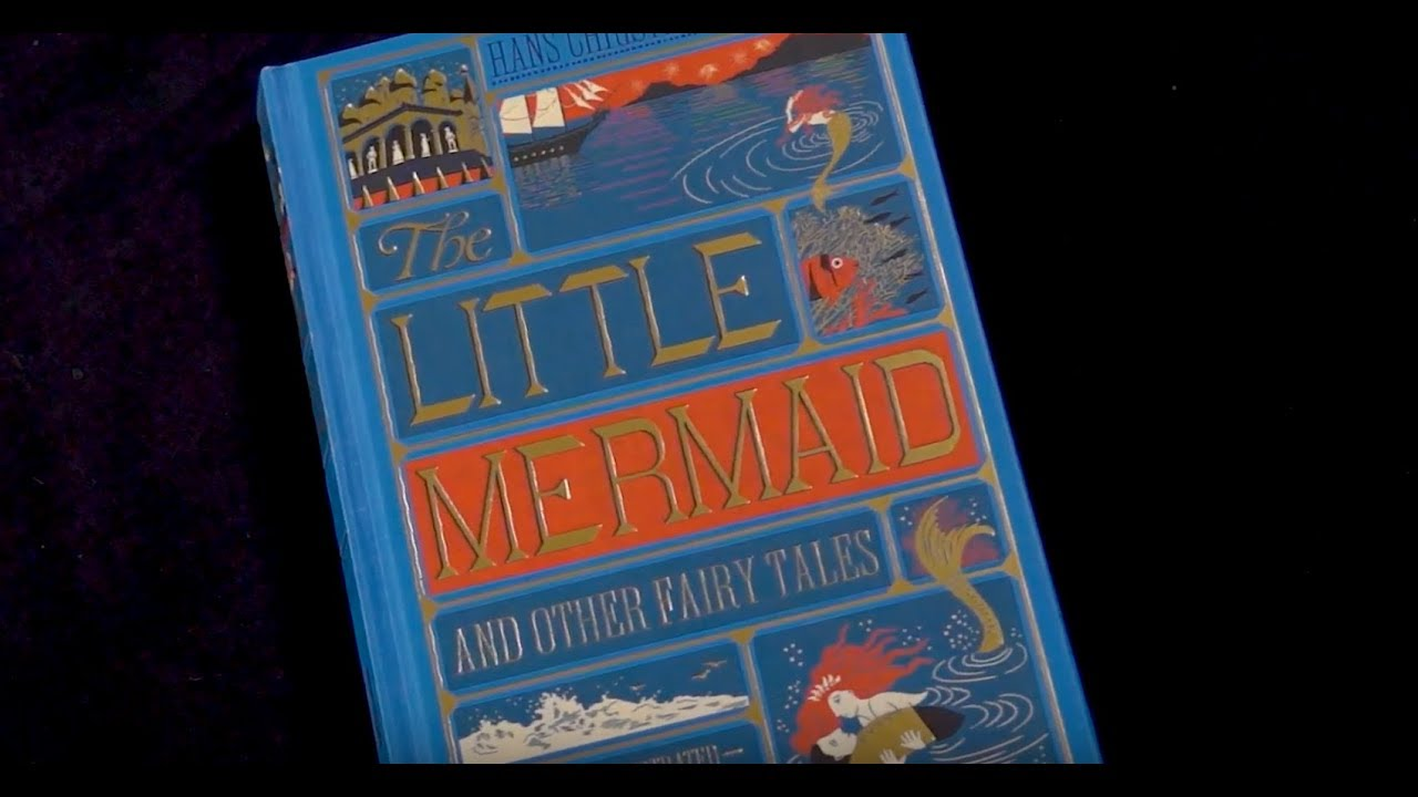 The Little Mermaid And Other Fairy Tales By Hans Christian Andersen Illustrated Minalima