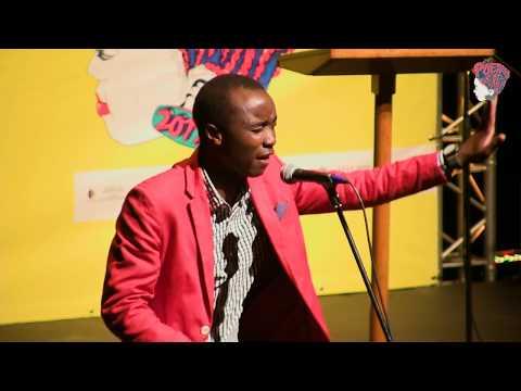 MALUSI NDLOVU PRELUDE AT POETRY AFRICA 2017