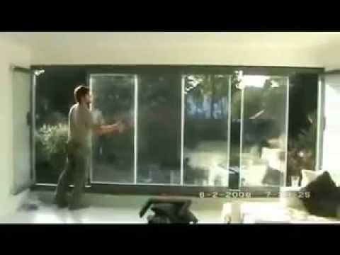 Frameless Glass Curtains Double Glazed Window Youtube