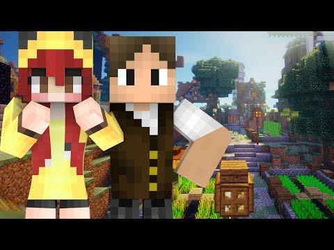Minecraft: 1 ANO DEPOIS CHERRY E JAZZ VOLTAM NA PRIMEIRA GRANDE SÉRIE DO CANAL!!!