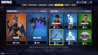*NEW* RAVAGE SKIN ITEM SHOP UPDATE!! | Fortnite Battle Royale