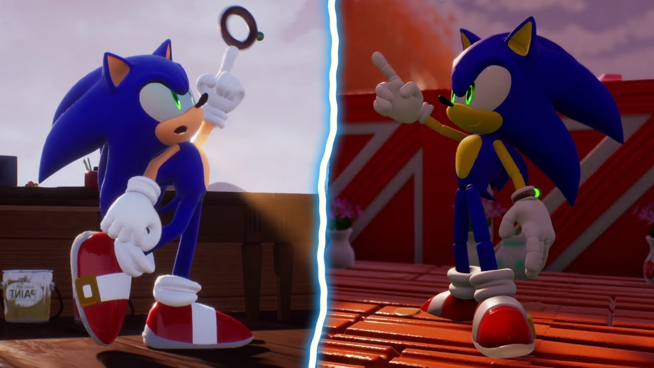 Sonic Omens on Console (Dreams PS5)